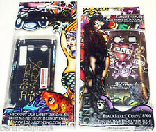 Blackberry 8900 Curve Ed Hardy LKS Tasche Hard Case Cover Schutz Hülle + Folie