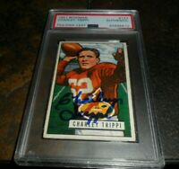 1951 Bowman FOOTBALL #137 Charley Trippi CHICAGO CARDINALS PSA/DNA Signed Auto