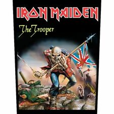 """IRON MAIDEN - """"THE TROOPER"""" - LARGE SIZE - SEW ON BACK PATCH"""