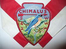 OA Chimalus 242,A-1,1950s Bluebird pp, NECK,57,67,275,540,Washington Green Cl,PA