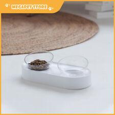 Petkit Fresh Nano 15 Degree Adjustable Feeding Bowl Cat Dog Feed - Double White