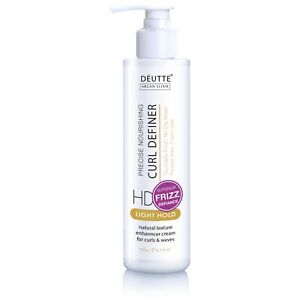 DeUtte Curl Definer Cream Curl Activator for Natural Curly Hair & Waves