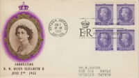 CANADA #330 QUEEN ELIZABETH II CORONATION FIRST DAY COVER
