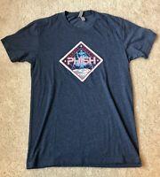 Phish Official T-Shirt Summer Tour 17 *NEW* Spaceship Baker's Dozen Men's Small