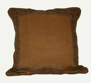 """ONE Croscill Payson EURO PILLOW 26"""" Southwestern Aztec NEW -I have two available"""
