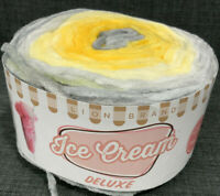 Lion Brand Ice Cream Deluxe 912-218  Silver Sands Super Bulky 155 Yds