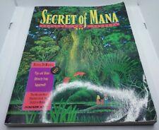 Secret Of Mana JRPG Nintendo Official Game Secrets Guide Walkthrough Book RARE