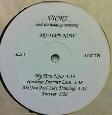 Vicky & The Holding Company - My Time Now LP VG+ Private Psych Pop Latin