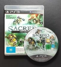 Sacred 3 First Edition (Sony PlayStation 3, 2014) PS3 Game - FREE POST