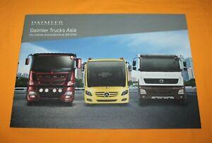 Daimler Trucks Asia Mercedes Fuso Bharat Benz LKW 2016 Prospekt Brochure Catalog