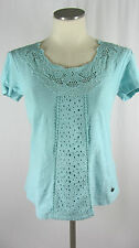 Scoop Neck Semi Fitted Textured Other Tops for Women