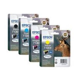 Genuine Multipack Epson T1301 T1302 T1303 T1304  Ink Cartridges original