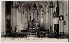 Le Brebis, Bully Les Mines, Pas-de-Calais, France vintage Postcard CPA  L'Eglise