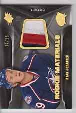 Ryan Johansen 11/12 UD SPX Rookie Materials Spectrum Patch SP /15