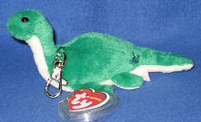 TY KEY CLIPS - NESS - E (WITH LOGO) LOCH NESS - UK EXCLUSIVE - MINT w/ MINT TAGS