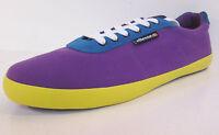 Ellesse PORTOFINO purple/blue/yellow lace up trainers by Ellesse Retail £29.99