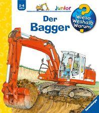 Wieso Weshalb Warum Junior Der Bagger 2-4 Jahre Ravensburger +BONUS