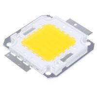 50W Chip LED per Lampada Faretto Luce Bianco Caldo 3800LM Alta Potenza DIY W4I7