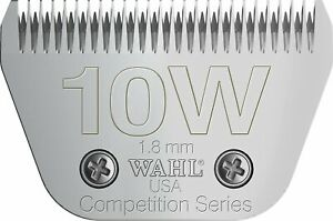 WAHL COMPETITION BLADE 10W - Cuts 1.8mm Fits Andis Oster A5 Snap On