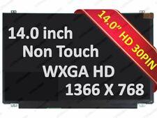 """14"""" WXGA  eDP LED LCD Screen for Dell New DP/N: W92HV 0W92HV"""