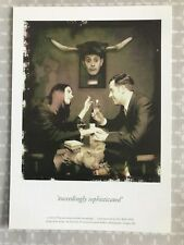 Exceedingly Sophisticated - All Bar One promotional advertising postcard