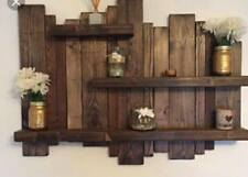 Rustic Wood Shelves Upcycled Pallet 4 Colours Available
