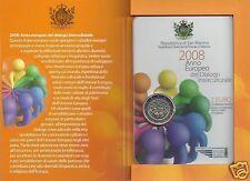manueduc  CARTERA  SAN  MARINO 2008  2  EUROS EN CARTERA  Diálogo intercultural