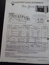 ORIGINALI service manual Blaupunkt LUSSO PUNTE CASSAPANCA NEW YORK