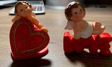 1981 And 1982 Valentine Hallmark Merry Miniatures