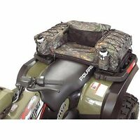 ATV Seat Padded Bag Quad Camo Coleman Large Bottom Seat Cargo Rear Storage NEW!