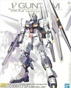 RX-93 Gundam Nu Ver. Ka Bandai Gunpla Master Grade MG 1/100 Model Kit Bandai