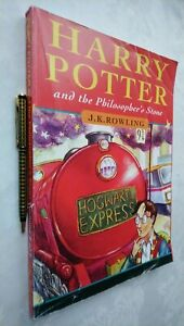 HARRY POTTER AND THE PHILOSOPHER'S STONE * JOANNE ROWLING * ERRORS 1ST/1 £4.99