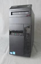 PC System Lenovo ThinkCentre M82 3,4GHz 4GB RAM 120GB SSD + 500GB HDD WINDOWS 10