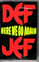 NEW Def Jef Here We Go Again 1991 Cassette Tape Maxi Single Rap Hiphop