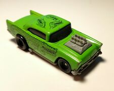 Vintage Hot Wheels Promo McDonalds Happy Meal '57 Chevy Green Chevrolet Bel Air