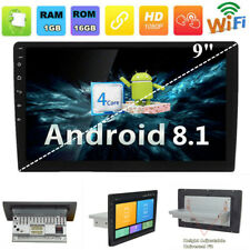 "(Android 8.1) 9"" GPS Car Stereo Radio WiFi 3G 4G BT Single 1 Din Mirror Link"