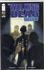 The Walking Dead Weekly #13 VF-NM KIRKMAN ADLARD AMC IMAGE COMICS