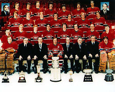 Montreal Canadiens 1977-78 Stanley Cup Champions - 8x10 Color Team Photo