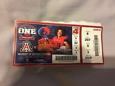 2014 Football Ticket Stub Arizona vs USC