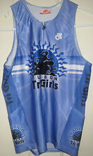 Champ-Sys Sleeveless Triathlon Cycling Jersey Tucson Tri Girls Blue Womens Small