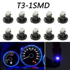 10x Blue T3 Neo Wedge Car LED Bulb Lights Dash Dashboard Gauge Cluster Lamp 12V