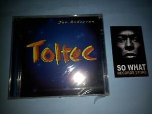 JON ANDERSON - TOLTEC. CD NEW SEALED
