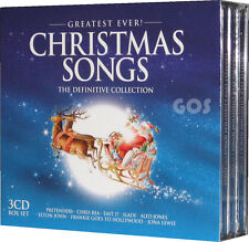 The Greatest Christmas Songs Collection Music Tracks Original Recordings 3 CDs