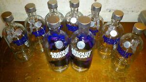 Absolut Vodka-Flaschen  Leer! 9 Stück
