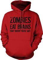 Zombies Eat Brains Unisex Hooded Sweatshirt Hoodie Walking Dead Zombie