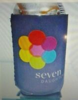 2 SEVEN DAUGTERS ADVERTISING CAN BOTTLE KOOZIES INSULATORS