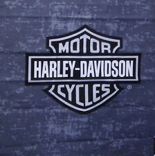 Harley Davidson fabric panel  19x20 CAMO GRAY