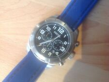 Gents FOSSIL Chronograph blue wristband timepiece