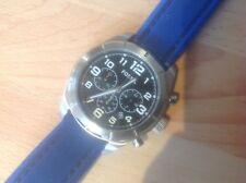 Da Uomo FOSSIL Cronografo Blu Braccialetto Orologio