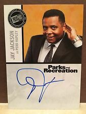 Parks and Recreations ( Press Pass) Jay Jackson Auto as Perd Hapley